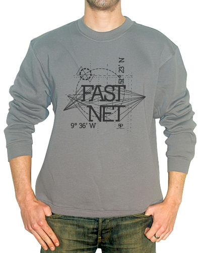FASTNET SWEAT GRIS