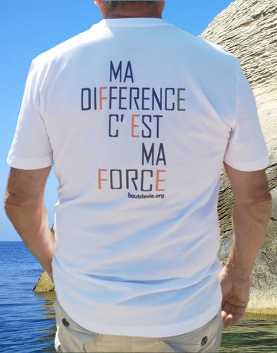 T-shirt Homme Ma force